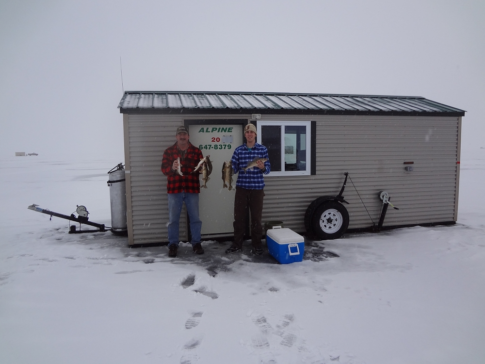 Redlakemnicefishingcom Alpine Fish House Rentals On Upper